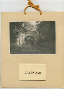 Vintage Workington Calendar for 1961 Cuckoo Arch Workington C1