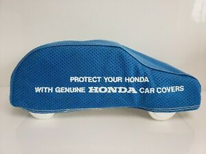 Rare Vintage Genuine Honda Blue Car Cover Table Counter Top Dealership Display