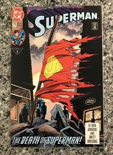 SUPERMAN #75 VF+ (DC 1993) Death of Superman, Doomsday, 3rd Print