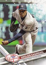 2017 Topps Holiday Baseball Trading Card, # HMW63 Aroldis Chapman