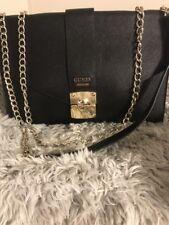 GUESS Handbag Crossbody Envolope Clutch Black