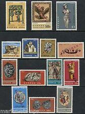 CYPRUS DEFINITIVES SCOTT#278/91, SG283/96 SPECIMEN OVERPRINTS MINT NH