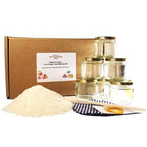 Jam Making Kit - Extra Fruity, Reduced Sugar, Super Easy Setting by Helen's Own