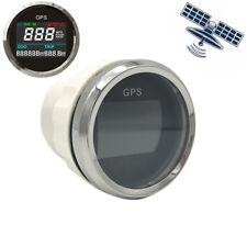 """2"""" Digital Motorcycle GPS Speedometer Odo Gauge Multi Indicator 0~999 MPH Km/h"""