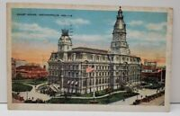 Indianapolis Indiana Court House Postcard B5