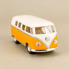 1962 Volkswagen Classic Kombi Van Microbus Minibus Campervan Yellow Hippy 1:32