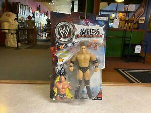 2002 Jakks WWE Wrestling Ruthless Aggression BROCK LESNAR Figure MOC