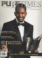 PURE TIMES Limited Edition 2015 Bill BELLAMY E.G. DAILY Super Bowl 50 Levi's Sta