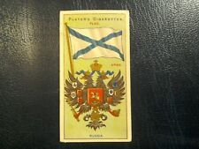 J. PLAYER. 1905.-1912.  COUNTRIES  ARMS  &  FLAGS . 1 ODD CARD   NUMBER 14.