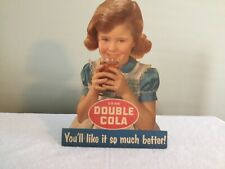 Double Cola Cardboard Sign