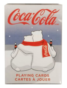 Bicycle Coke Polar Bears Playing Cards - 1 Sealed Deck