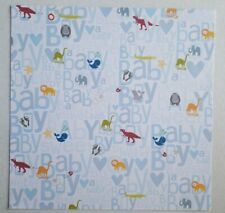 Me & My Big Ideas 12x12 Cardstock Scrapbook Craft Paper 2 SHTS - Dino Baby Boy
