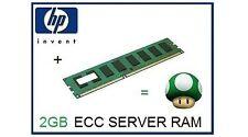 HP 2GB (DDR1) Dual Rank PC3-10600 (DDR3-1333) ECC Unbuffered cas-9 500209-161