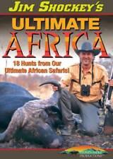 Jim Shockey 18 Hunts From Ultimate Africa Safaris Buffalo Lion Hippo DVD NEW