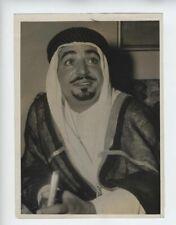 EZZAT BEY KUWAIT1948 PRESS PHOTO OIL VINTAGE  الكويت  SAN FRANCISCO