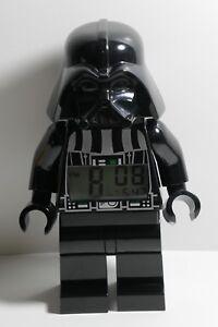 LEGO Star Wars Darth Vader Alarm Clock Kid Bedroom Decor Action Figures Doll Toy