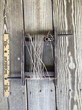 Handmade Fishing Handle Kite Wood Two Handles Rotate Spool