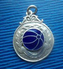 Irish silver enamel Gaelic Football Fob MEDAL H/M Dublin 1953 Nemo Rangers Cork