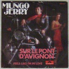 Pochette Moto 45 tours Mungo Jerry 1977 Moto Guzzi