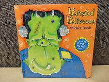 Haunted Hallween sticker book spooky stickers inside! party favor