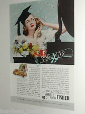 1939 Fisher Body advertisement, General Motors Chevrolet, graduate, Class of 39