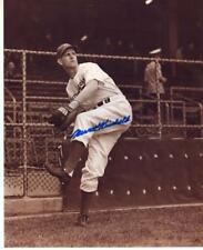 NEWT KIMBALL BROOKLYN DODGERS D.2001 SIGNED AUTOGRAPHED 8X10 PHOTO W/COA