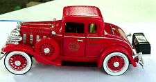 New 1932 Chevy Fire Chief Car Diecast Confederate Series