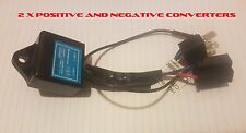 1 x Pair of H4 Positive and Negative Converters for LED Headlight Globes Toyota