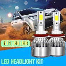 2x LED Headlight Bulb Kit H11 H8 H9 for Toyota Matrix Yaris RAV4 Corolla Venza