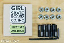 "New Girl Allen Skateboard Mounting Hardware 1"", Free Shipping"