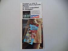 advertising Pubblicità 1967 CINZANO