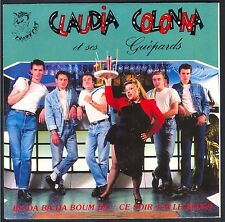 CLAUDIA COLONNA Et ses Guépards  45T SP ROCKABILLY Crazy Cat CC 0024 NEUF MINT