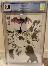 Batman #50 (Dynamic Forces Black & White Edition) CGC 9.8