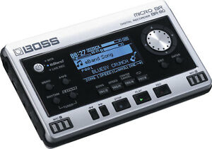 BOSS MICRO BR-80 DIGITAL MULTI 8 TRACK RECORDER WITH EFFECTS 32GB & POWER SUPPLY