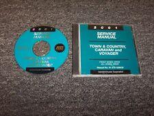 2001 Dodge Caravan Van Shop Service Repair Manual DVD SE Sport 2.4L 3.3L V6