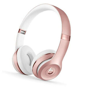 Beats by Dr. Dre Solo3 On Ear Wireless Bluetooth Headphones - Rose Gold