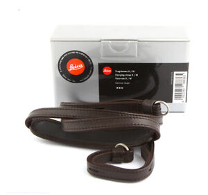 Leica Canvas Neck Strap for Leica X and Leica X-E Cameras (Brown ) 18836