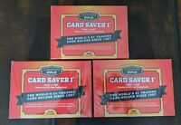 Cardboard Gold (Lot of 3) PSA Submission Card Saver I ~200 Count = 600 Holders