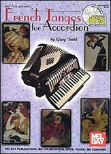 "FRENCH TANGOS FOR ""ACCORDION"" MUSIC BOOK/CD-BRAND NEW ON SALE SONGBOOK-VERY RARE"