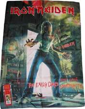 IRON MAIDEN EARLY YEARS  POSTER TEXTILE FLAG NEW IN BOX