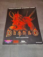 Diablo (Sony PlayStation 1, 1998) PS1 Strategy Guide RARE!!