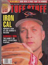 1995 Tuff Stuff Magazine Sports Card Price Guide Iron Cal Ripken Jr - July