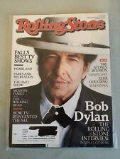 Rolling Stone Magazine September 27, 2012 - Bob Dylan - Madonna - Green Day