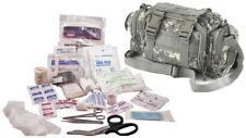 Military Elite First Aid Rapid Response Bag - Full Kit (Black, Olive, ACU, Tan)
