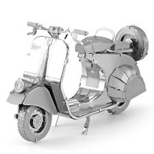 Metal Earth 3D Laser Cut Steel Model Kit Classic Vespa 125 Italian Scooter Gift