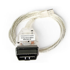 K+DCAN USB Interface INPA/Ediabas OBD CAN Diagnostic Cable with Switch for BMW