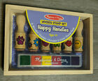 Melissa  Doug Happy Handles Wooden Stamp Set, 2407 NEW