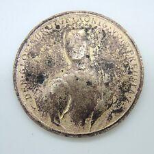 Uralter Erdfund Medaille Münze König von Preusia 1757 Triberg Friedrich II