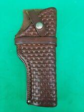 Vintage Northern Commercial Co. RH Colt 1911 Govt. Pistol Brown Leather Holster