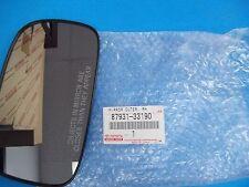 GENUINE LEXUS ES300 FRONT DOOR OUTSIDE MIRROR GLASS PASSENGER 87931-33190